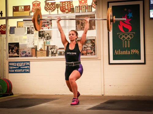Carlene Making Gains | weightlifting