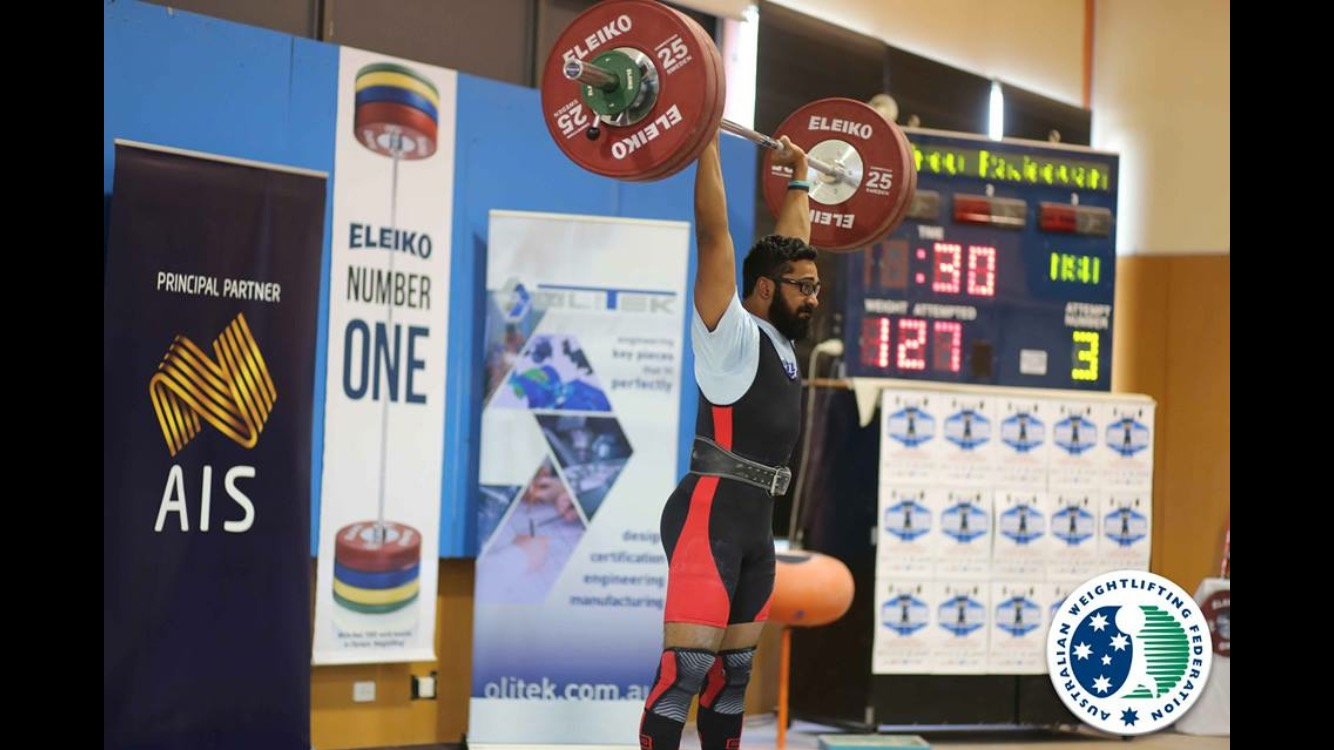 Secret to weightlifting success