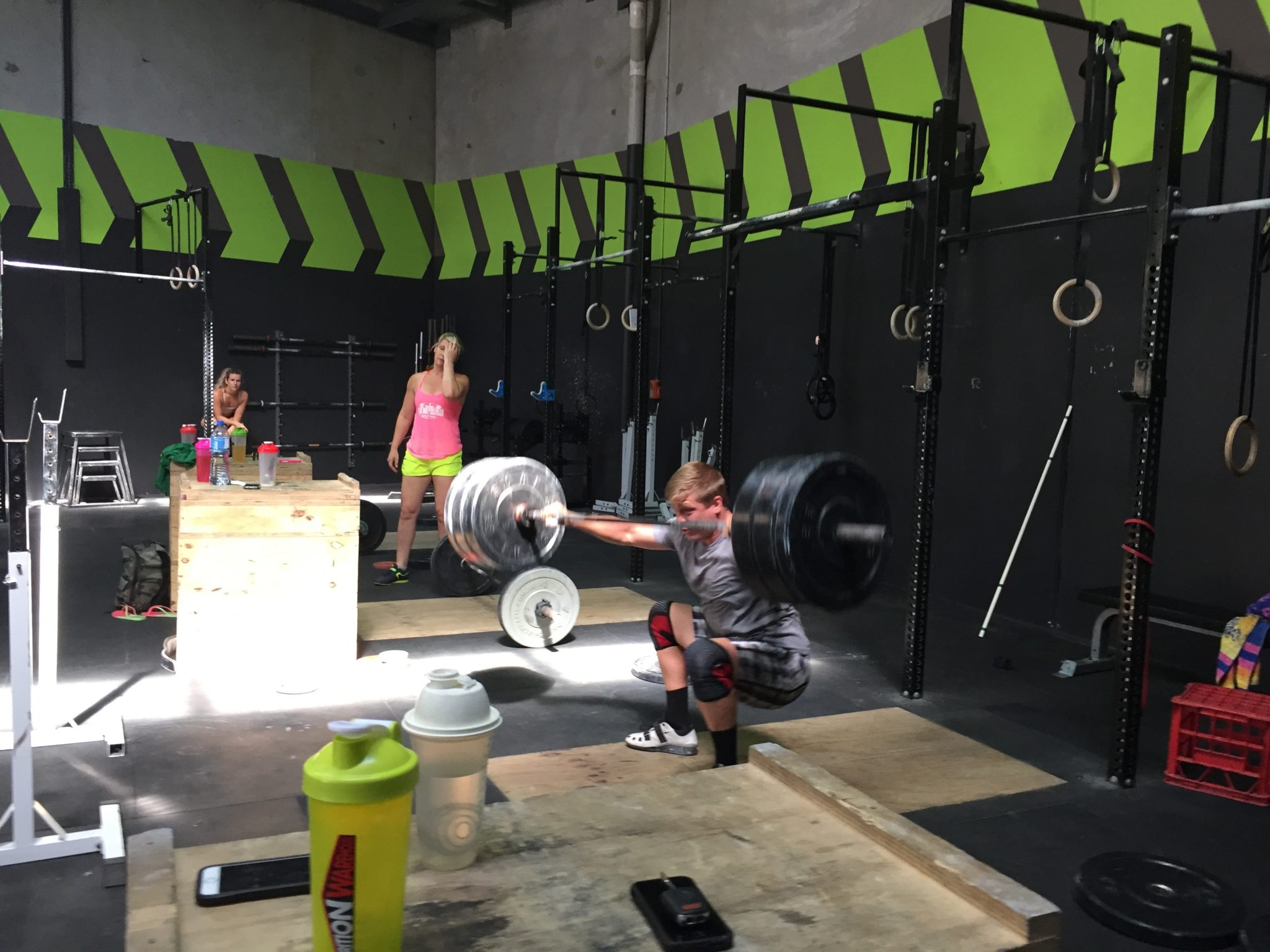 frustration learning the snatch