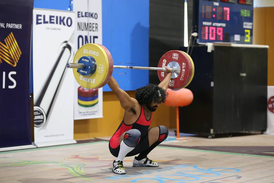 Competing at the 2017 Australian Open