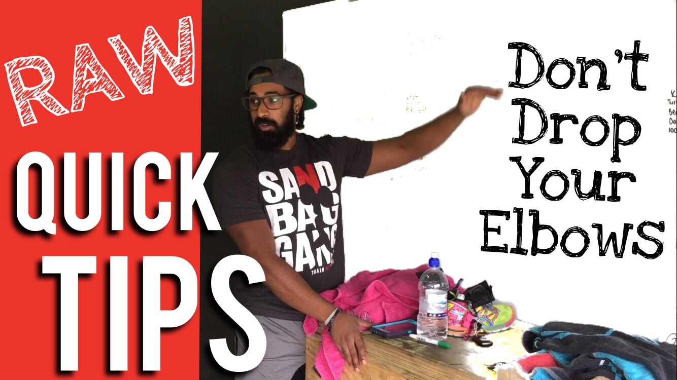 Dropping Your Elbows in the Jerk | RAW Quick Tips