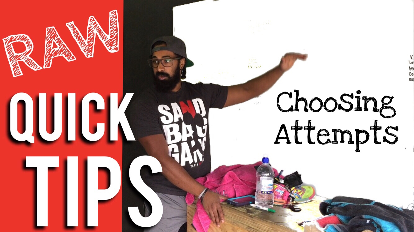 Choosing Attempts | RAW Quick Tips