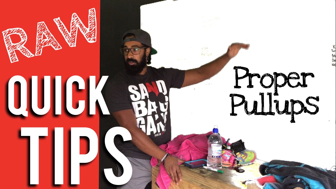 Proper Pull Ups | RAW Quick Tips