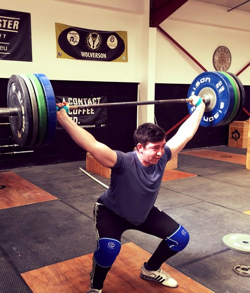 seb ostrowicz snatching from weightlifting house