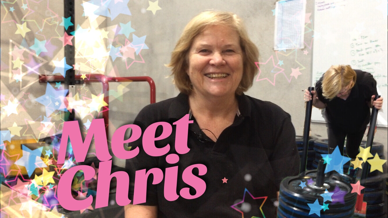 Meet Our Athletes: Chris McAulay – 62 Year Old Personal Training Client