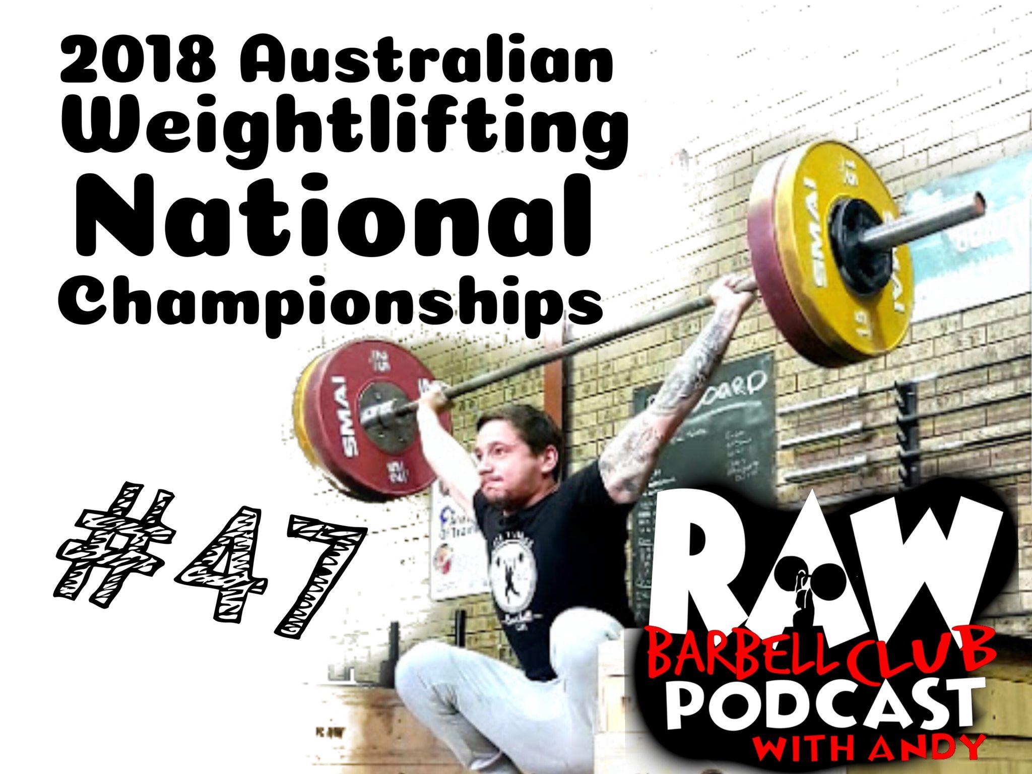 2018 Australian Senior Championships Predictions with Yannick Mifsud