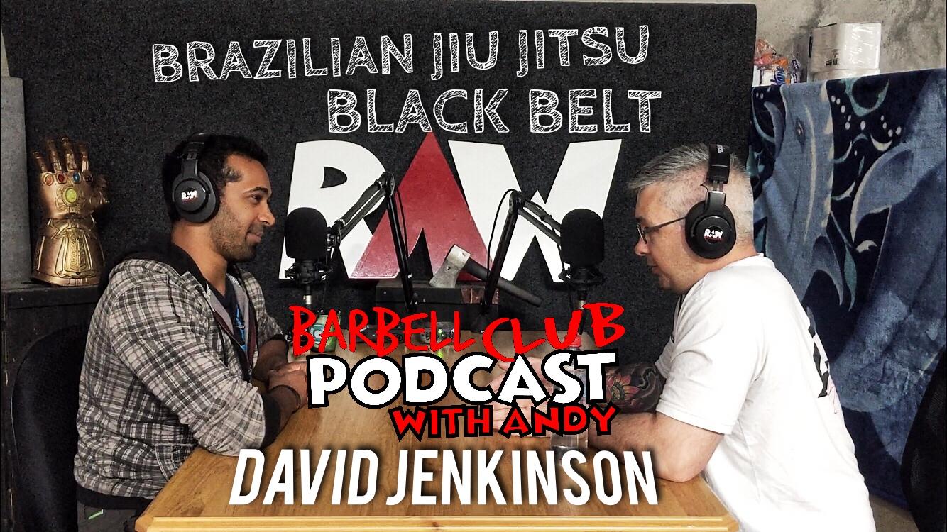 Professor David Jenkinson : Brazilian Jiu jitsu Black Belt