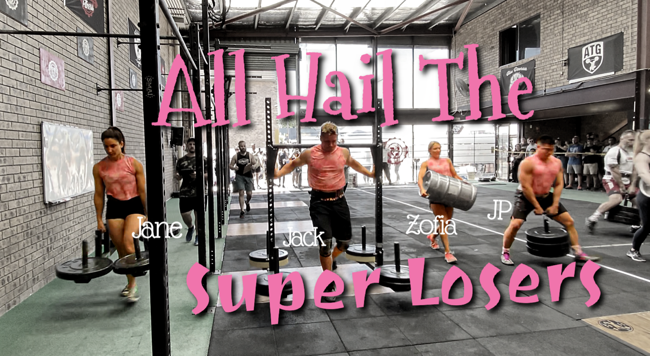 The Super Losers Win Strength Wars 2019 (CrossFit & Strongman Competition)