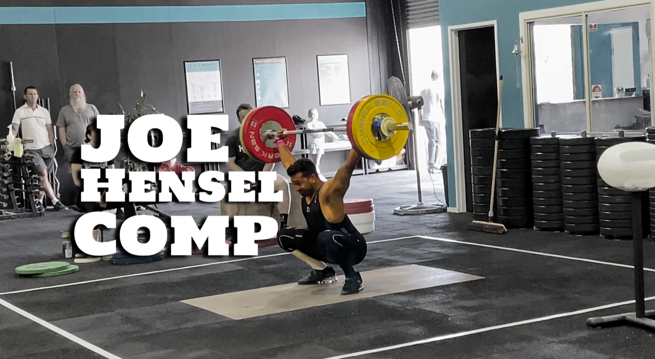 Joe Hensel Memorial Olympic Weightlifting Competition 2019 – Training Diary