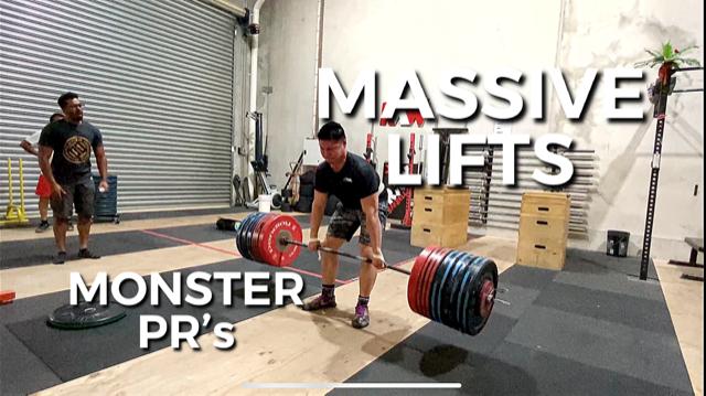 Massive Lifts & Monster PR's