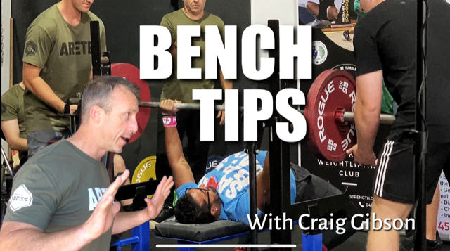 Bench Lesson with Craig Gibson