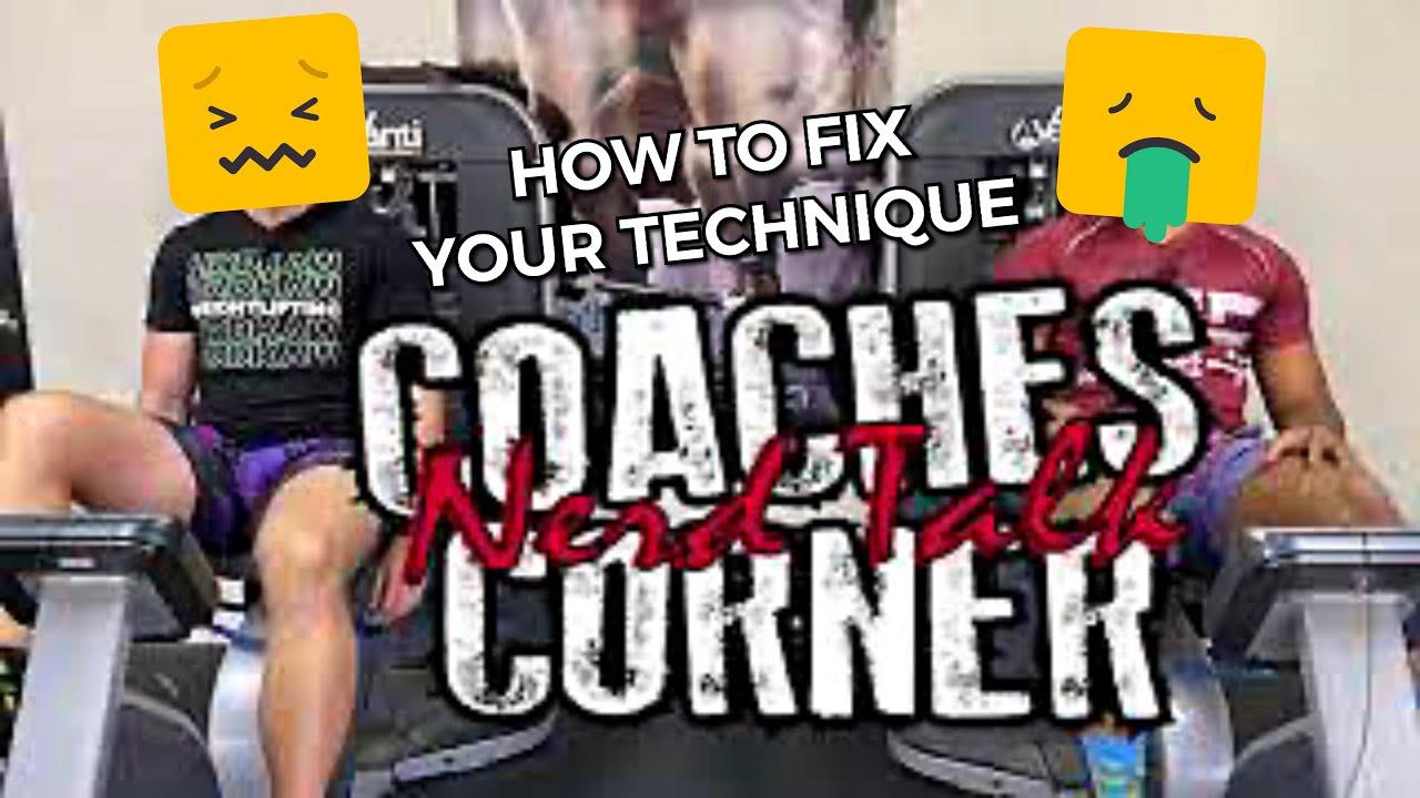 What to Do When Your Technique Sucks (Training Alone) : Coaches Corner
