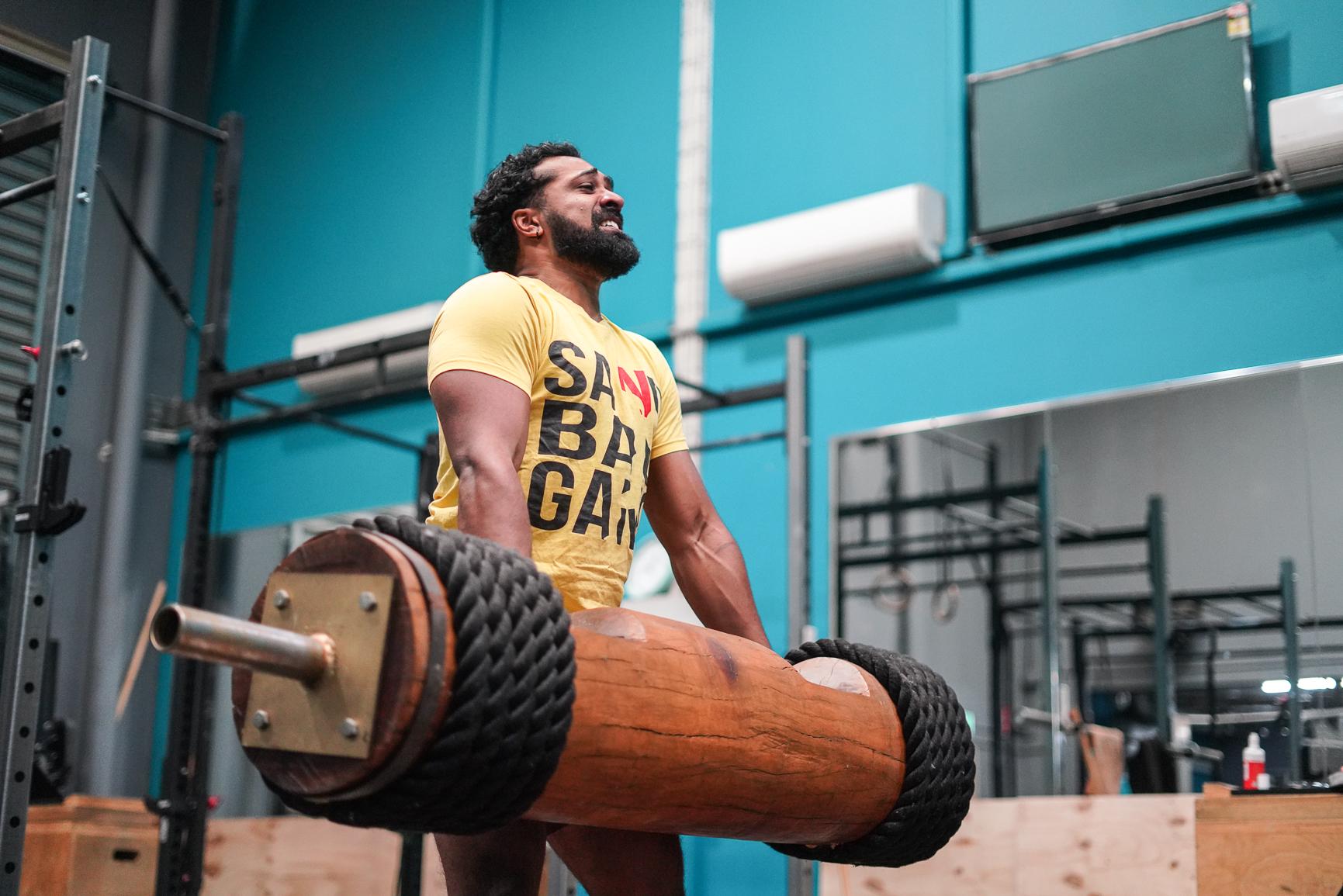 joshua wu raw barbell club olympic weightlifting