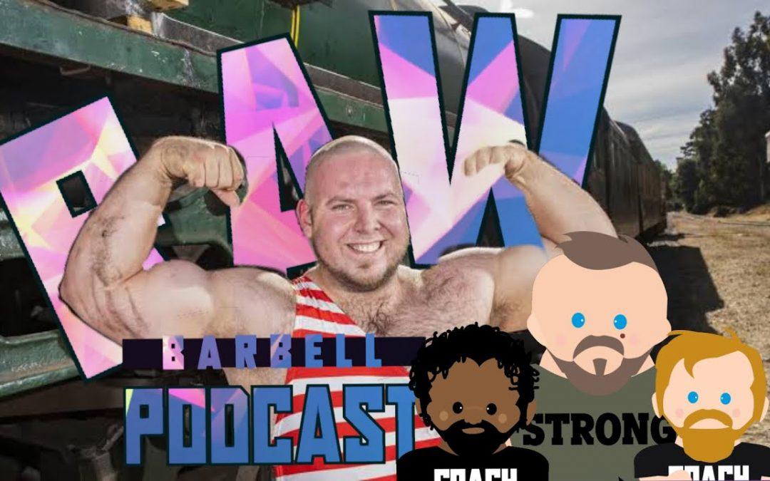 "Ep. 1 | Raw Barbell Podcast 2.0 w/ Jordan ""Biggie"" Steffens"